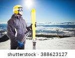 Ski Slope In High Tatras...
