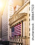 famous wall street and the... | Shutterstock . vector #388647523