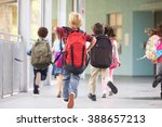group of elementary school kids ... | Shutterstock . vector #388657213