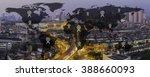 world map signal concept... | Shutterstock . vector #388660093