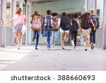 group of elementary school kids ... | Shutterstock . vector #388660693