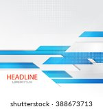 abstract business background.... | Shutterstock . vector #388673713
