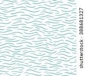 blue wave pattern | Shutterstock .eps vector #388681327