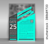 business flyer. can be used for ... | Shutterstock .eps vector #388689733