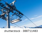 chair lift for skiing in the...   Shutterstock . vector #388711483