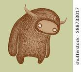 funny monster | Shutterstock .eps vector #388733017