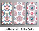 set vintage universal different ... | Shutterstock .eps vector #388777387