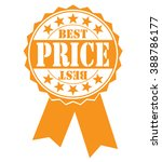 best price icon on a white ... | Shutterstock .eps vector #388786177