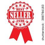 bestseller icon on a white ... | Shutterstock .eps vector #388786183