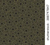 seamless pattern with abstract... | Shutterstock .eps vector #388797847
