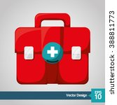 medical and hospital icon | Shutterstock .eps vector #388811773