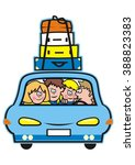 family holiday  vector icon ... | Shutterstock .eps vector #388823383