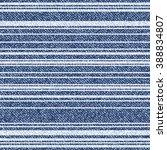vector striped denim texture.... | Shutterstock .eps vector #388834807