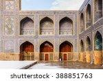 shah mosque  jameh abbasi... | Shutterstock . vector #388851763