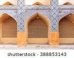 part of the jameh mosque of... | Shutterstock . vector #388853143