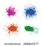 bright colorful banners with... | Shutterstock .eps vector #388863577
