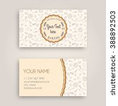 vector business card design... | Shutterstock .eps vector #388892503