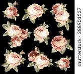 rose flower illustration  | Shutterstock .eps vector #388901527