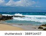 Island Beach   Strong Blue...