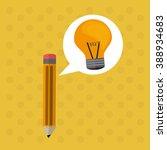 office supplies design  | Shutterstock .eps vector #388934683