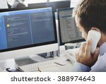 software programming web... | Shutterstock . vector #388974643