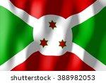 3d weaving flag   burundi. | Shutterstock . vector #388982053