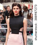 Small photo of LONDON - MAY 21, 2015: Alexandra Daddario attends the World Premiere of San Andreas at the Odeon Cinema Leicester Square on May 21, 2015 in London