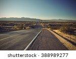 Long Old Asphalt Road Route 66...