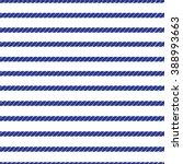 horizontal navy marine rope... | Shutterstock .eps vector #388993663