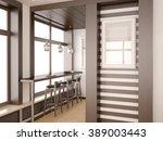 3d illusrtation of mini dar | Shutterstock . vector #389003443