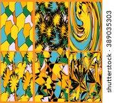 abstract in brown tones | Shutterstock .eps vector #389035303