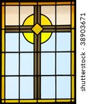 stained glass from inside a... | Shutterstock . vector #38903671