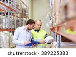 wholesale  logistic  people and ...   Shutterstock . vector #389225383