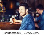 people  leisure and drinks... | Shutterstock . vector #389228293