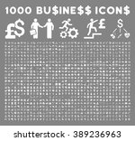 1000 business vector icons.... | Shutterstock .eps vector #389236963