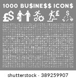 1000 business glyph icons.... | Shutterstock . vector #389259907