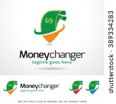 money changer logo template... | Shutterstock .eps vector #389334283