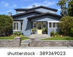 beautiful homes and estates... | Shutterstock . vector #389369023