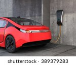 electric vehicle charging...   Shutterstock . vector #389379283
