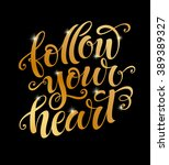 vector illustration  follow... | Shutterstock .eps vector #389389327