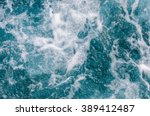 Rough Sea Bubble Foam Surface