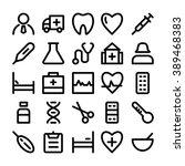 medical vector icon 1 | Shutterstock .eps vector #389468383