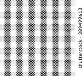 black white and gray checkered... | Shutterstock .eps vector #389499613