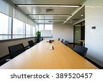 business meeting room or board... | Shutterstock . vector #389520457