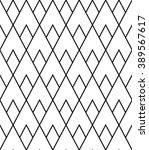 vector modern seamless geometry ...   Shutterstock .eps vector #389567617