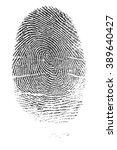 police fingerprints.   Shutterstock . vector #389640427