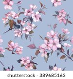 Floral Seamless Pattern  Sprin...