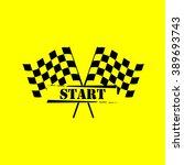 flag cross | Shutterstock .eps vector #389693743