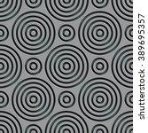seamless damask pattern. vector ... | Shutterstock .eps vector #389695357