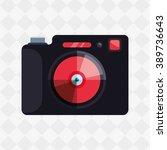 camera icon design  | Shutterstock .eps vector #389736643